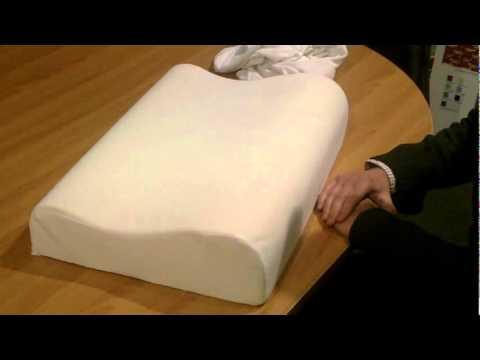phase 2 contour memory foam pillow youtube. Black Bedroom Furniture Sets. Home Design Ideas
