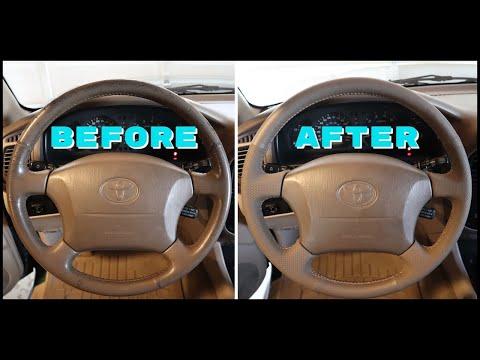 100 Series Land Cruiser Steering Wheel Replacement