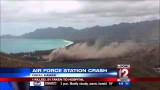 U.S. Marines: 1 killed, 21 injured after hard landing