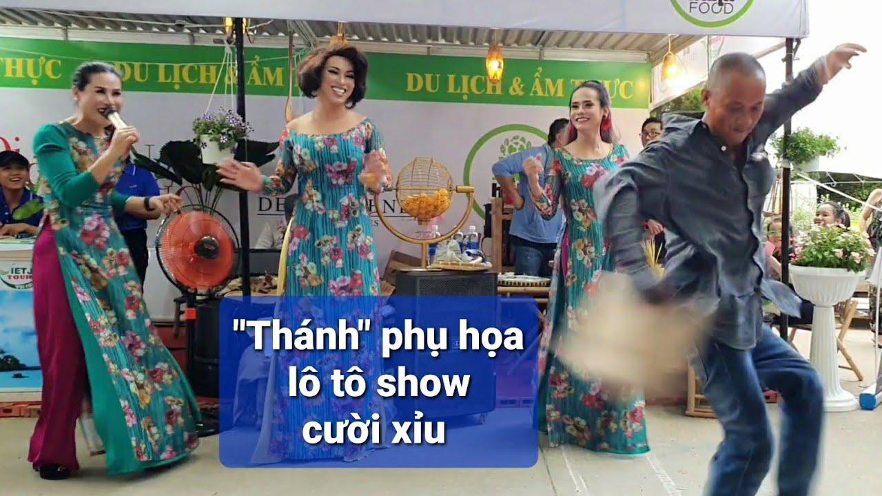 Đoàn lô tô Sài Gòn Tân Thời quẫy tưng bừng tại hội chợ Công viên Lê Văn Tám