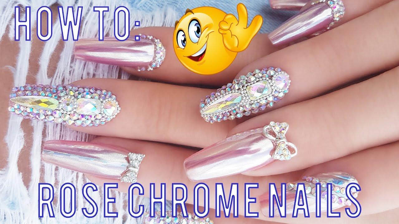 Anwendungstipps Fur Perfekte Chrome Nails Anleitung Step By Step