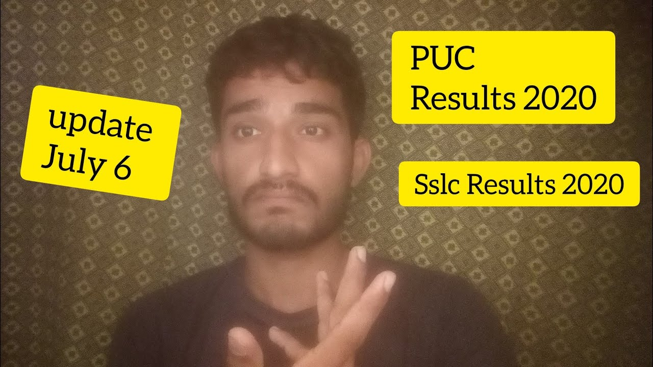 2nd puc Results 2020 And | SSLC Results 2020 | Updated 2020