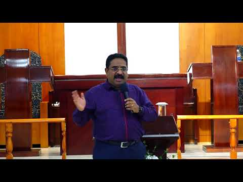Pastor Suresh Ramachandran @ Sharjah Service - 1st September 2017