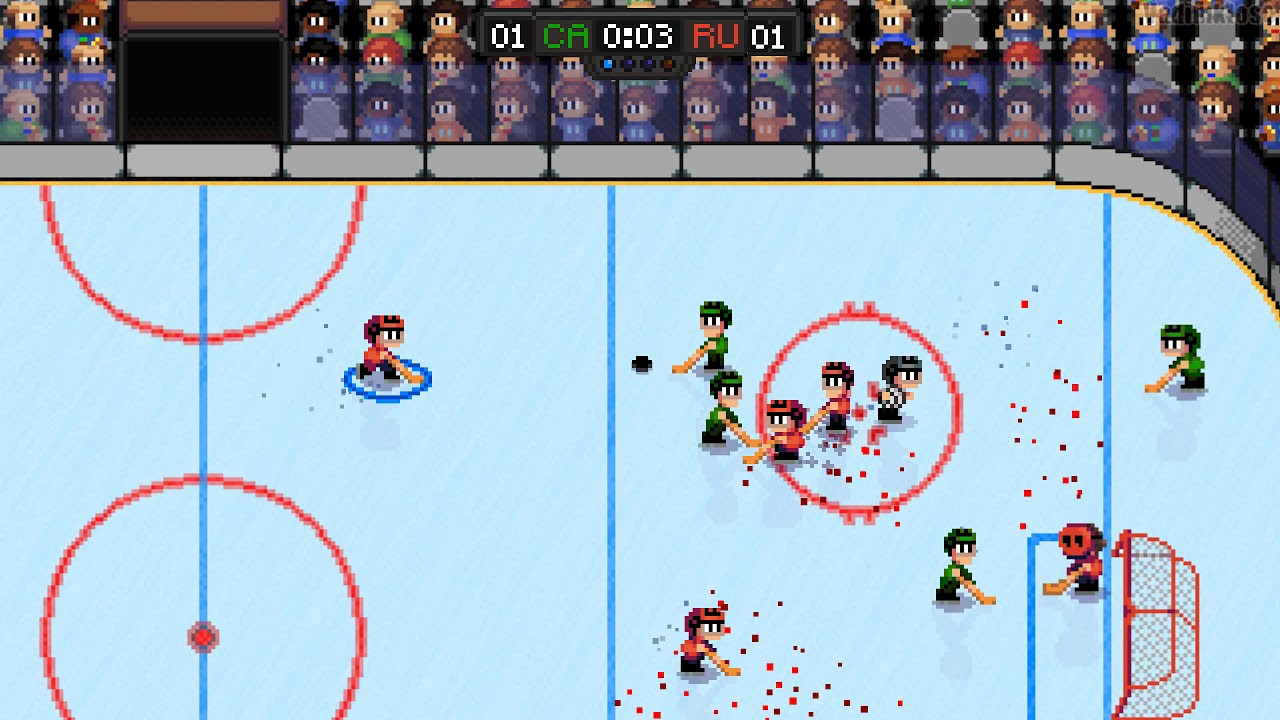 super blood hockey gameplay pc youtube