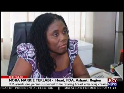 FDA Arrest: Breast Enhancing Creams - The Pulse on JoyNews (19-10-18)