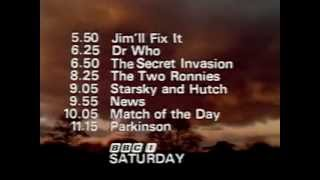 BBC One Closedown - 26th January 1979