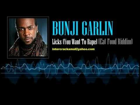 Bunji Garlin - Licks (Yuh Want To Rape) (Eat Food Riddim)