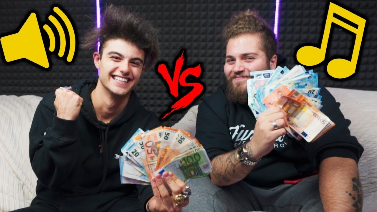 TENTA ADIVINHAR A MÚSICA POR 2000 $ VS Wuant