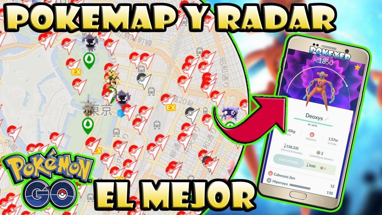 ★POKEMON GO EL MEJOR MAPA RADAR 2019 (100% IVS, RAID, RAID EX, QUEST)★