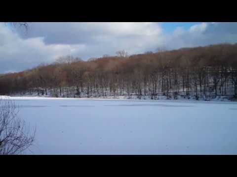 Rockefeller State Park Preserve in Winter, Westchester County, NY