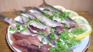 Как замариновать салаку,селедку,скумбрию,тюльку.(Простой и надежный способ замариновать рыбку с ароматными специями.Поверьте,такого вкуса и аромата вы..., 2013-04-07T07:32:12.000Z)