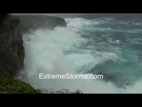 Saipan Banzai Cliff monster waves