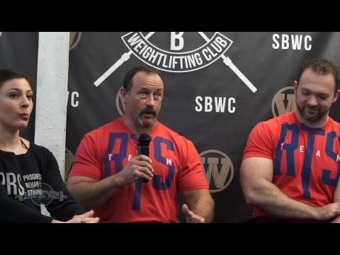 RTS Seminar at South Brooklyn Weightlifting Club - Q&A 2