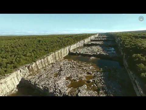 Visite d'une centrale hydroélectrique en réalité virtuelle [vidéo 360 4K]