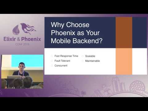 ElixirConf 2016 - Phoenix Beyond the Browser - Realtime Applications with... by David Stump