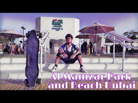 Al Mamzar Park and Beach Dubai    Electric Skateboard Ride
