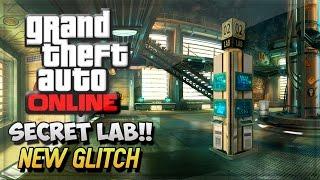 GTA 5 Glitches Online - GTA V INSANE SECRET HUMANE RESEARCH LAB ! (GTA 5 Online Gameplay)