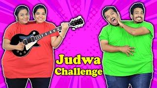 TWIN CHALLENGE  Funny Judwa Challenge  Hungry Birds