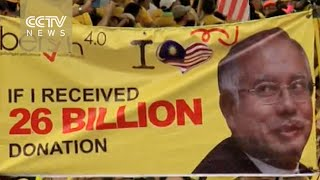 Huge Malaysia rally for Najib