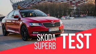 Skoda Superb Style 1.4 TSi 150 KM DSG - TEST | 4K