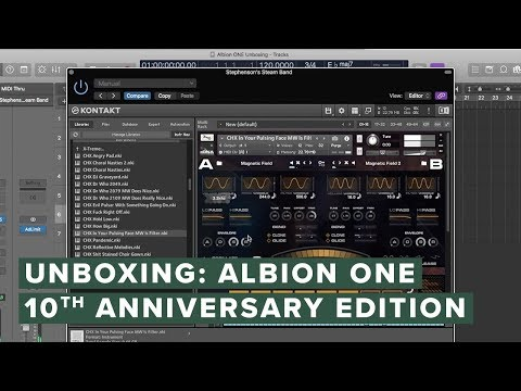 Unboxing: Albion One 10th Anniversary Edition