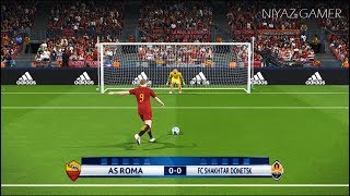 Download Video AS ROMA vs SHAKHTAR DONETSK | UEFA Champions League - UCL | Penalty Shootout | PES 2018 Gameplay PC MP3 3GP MP4