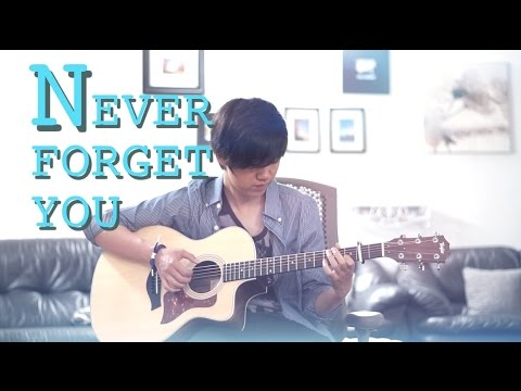Never Forget You - Zara Larsson MNEK (Fingerstyle Guitar Cover by Harry Cho)