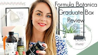 Formula Botanica Graduate Box Review / Lil Fox + Skin Dewi + Jalue + Okoko