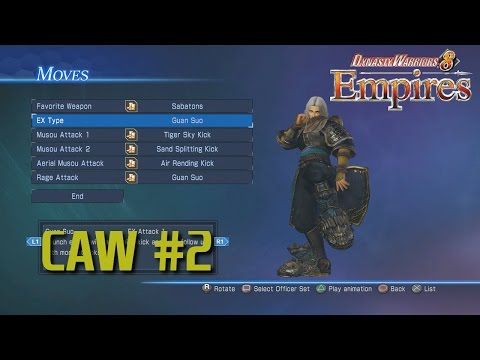Dynasty Warriors 8 Empires [PS4] | Creating a Warrior Part 2