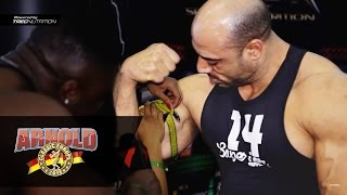 💪💪💪 The biggest biceps at Arnold Classic Europe Expo 2016 | Spain