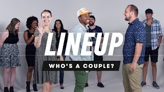 People Guess Who\'s a Couple from a Group of Strangers | Lineup | Cut