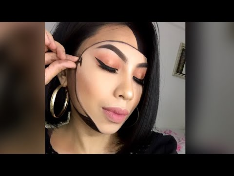 Mask illusion makeup tutorial inspired by Mimles 😍