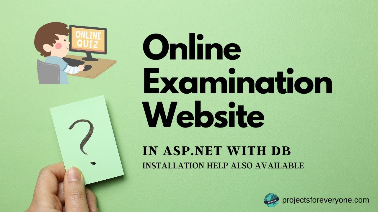 sample online examination system