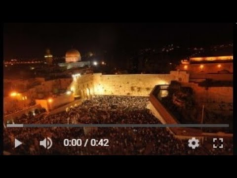 You have until Midnight Tonight to enter the 'Selichot' Kotel Lottery!