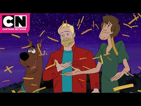 Jim Gaffigan vs. Scooby | Scooby-Doo and Guess Who? | Cartoon Network from YouTube · Duration:  1 minutes 36 seconds