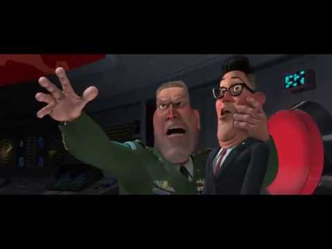 Monsters vs Aliens President Scream-Miss Ronson!