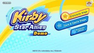 Kirby Star Allies Demo