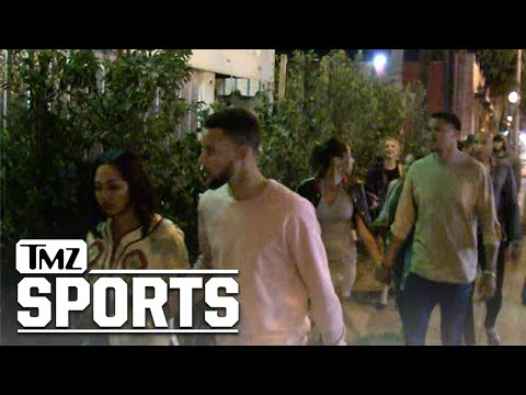 Steph Curry Turns Up In Hollywood ... with Drake's Dad! | TMZ Sports