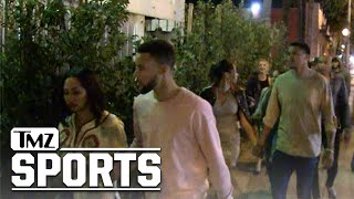 steph curry turns up in hollywood with drakes dad tmz sports
