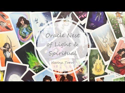開箱  光明與靈性之巢神諭卡 • Oracle Nest of Light & Spiritual // Nanna Tarot