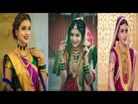Beautiful  Maharashtrian  Traditional Bridal Gold Jewelry Design