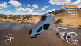Forza Horizon 3 PC - 2014 Porsche 918 Spyder [S2 Class] Online Race Gameplay + Top 5 Rivals