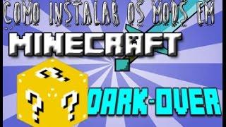 Como Colocar Mods no Minecraft - Novas Versões 1.7/1.8.8 2015