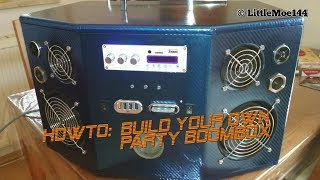 Howto: Build your own Party Boombox