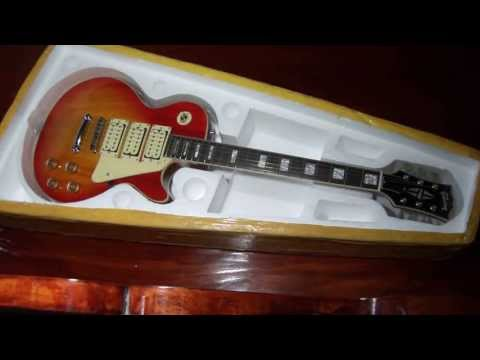 ace frehley china les paul review 39 chibson 39 funnydog tv. Black Bedroom Furniture Sets. Home Design Ideas