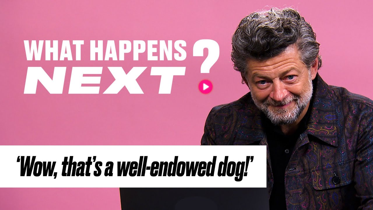Andy Serkis Reacts To Gollum Video | What Happens Next | @LADbible TV