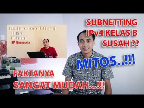 Cara Menghitung Subnetting IP Address Kelas C /26 di Ms Excel.