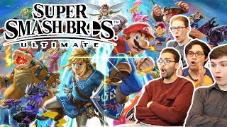 SUPER SMASH BROS ULTIMATE E3 REACTION!