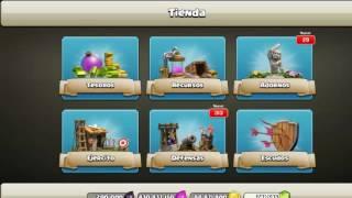Clash of Clans Atacando Todo Esbirro(LVL 6) Y Terremoto Brujas al (LVL 1) Y Aceleracion