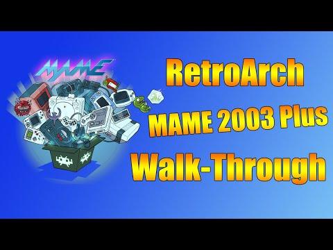 RetroArch MAME 2003